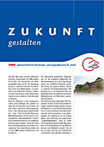 Jahresbericht 2009 Haus St. Josef