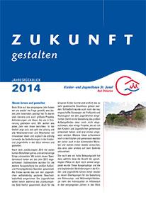 Jahresbericht 2014 Haus St. Josef